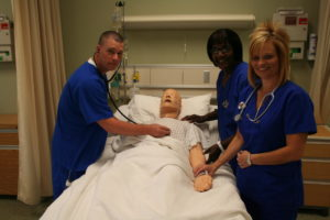 Nurses with patient - Practical Nursing - Emergency Medical Science (AAS) A45340